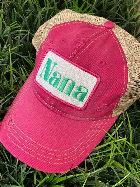 Pink Nana Hat