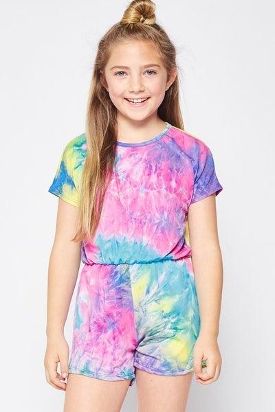 Kids Tie Dye Romper