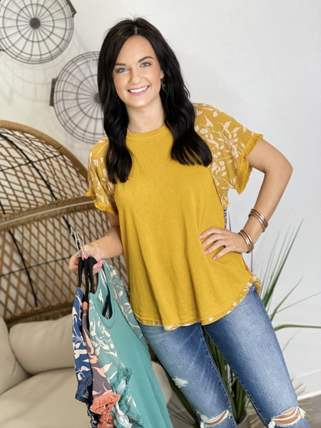 The Creole Top in 4 Colors - All Sizes