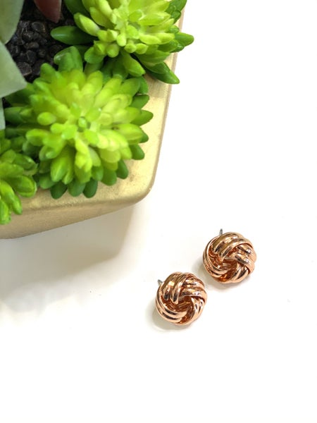 The Rose Knot Studs