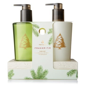Frasier Fir Sink Set