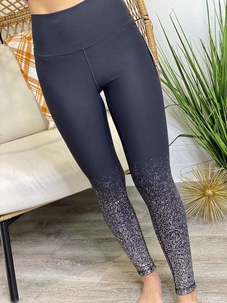 The Metallic Raindrop Leggings
