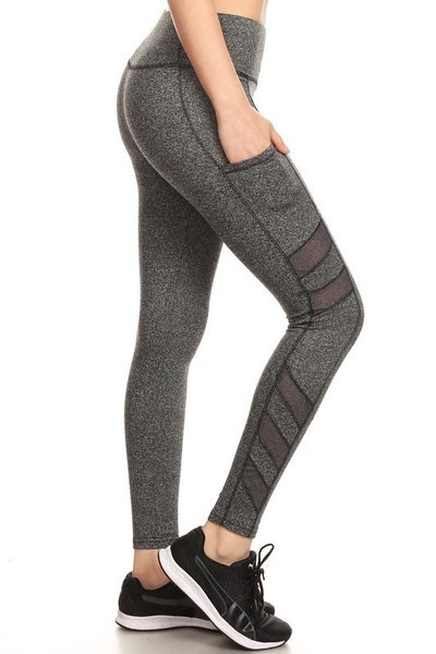 The Soft Mesh Leggings