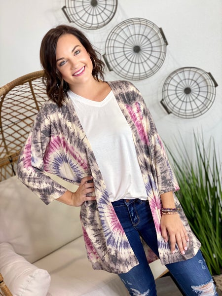 The Judy Cardigan in Grey-All Sizes