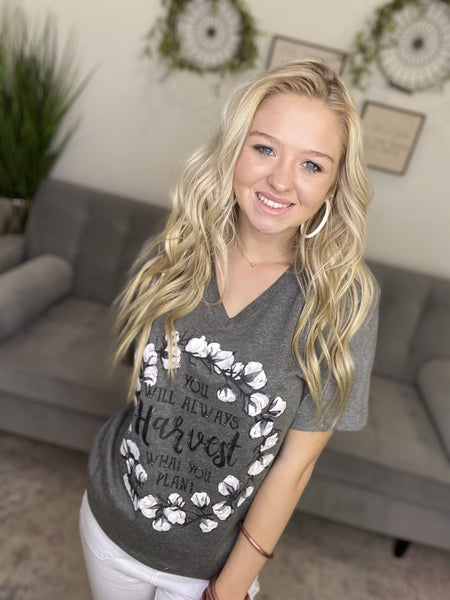 The Harvest What You Plant Tee - All Sizes