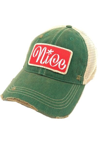 Green Nice Hat
