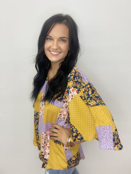The Honey Patches Top
