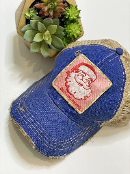 Blue Believe Hat
