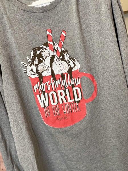Marshmallow World Tee