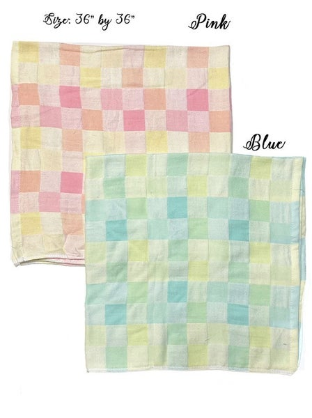 The Gingham Swaddle-2 Colors