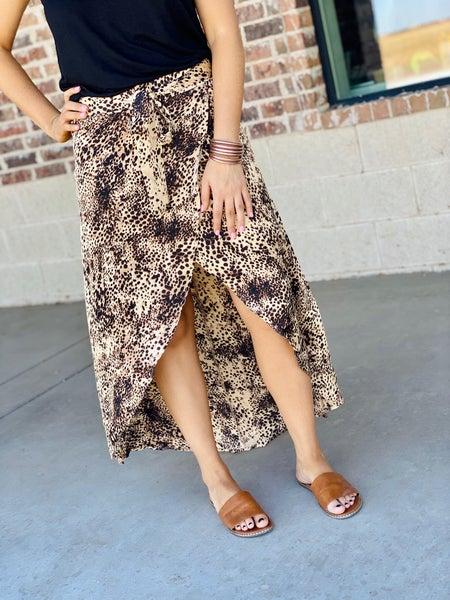 The Rachael Wrap Skirt