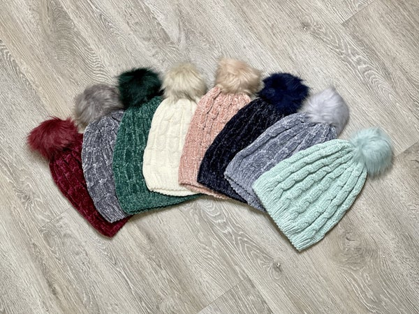 Surprise Steal-Chenille Beanies