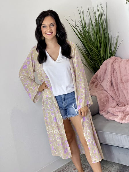 The Purple Passion Short Duster