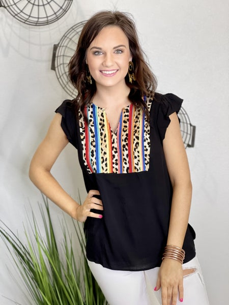 The Leo Stripe Top - All Sizes