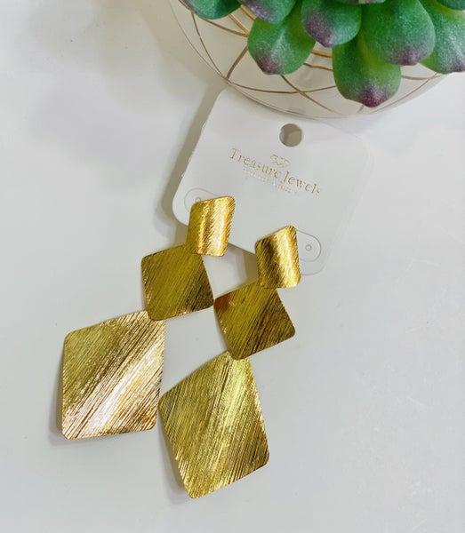 Triangles In Love Earrings