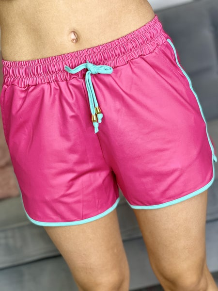 The Everyday Shorts in Hot Pink