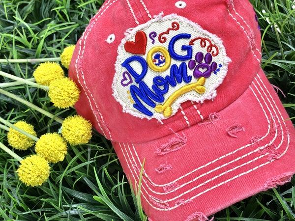Dog Mom Patch Hat