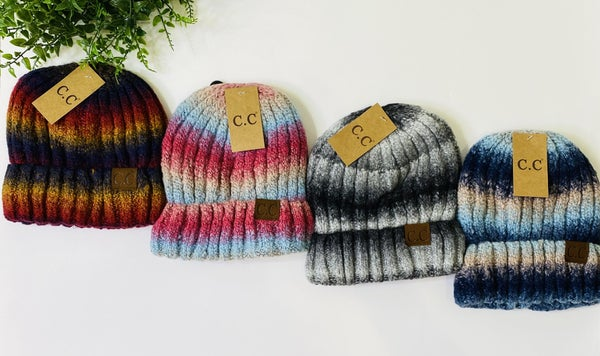 LD STEAL 46-Ombre Beanies