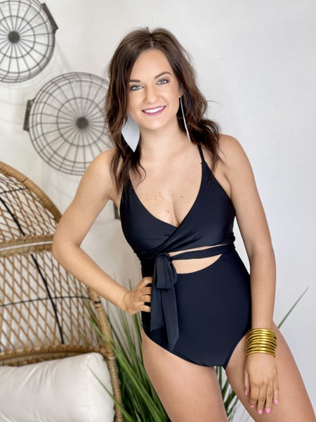 The Black Charmo Swimsuit