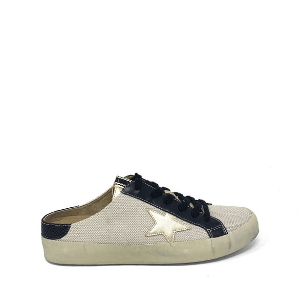 The Pauly Gold Slip Sneakers