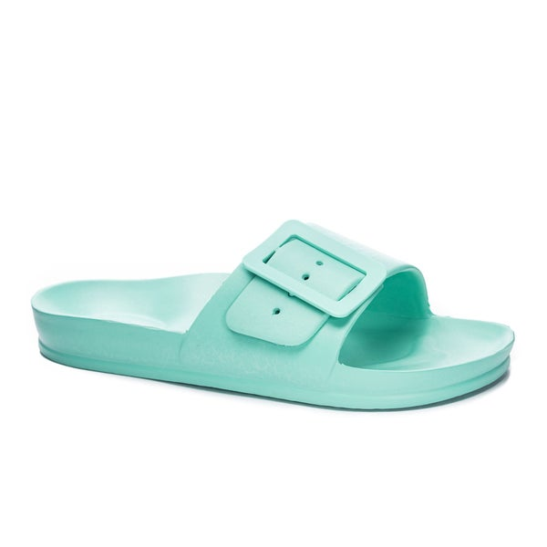 The Playful Sandals in Green