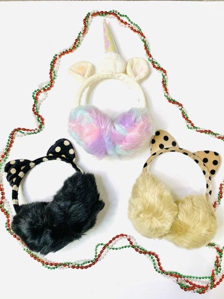 Surprise Steal-Earmuffs in 3 Styles