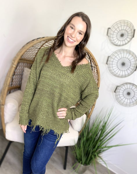 The Solid Sellout Sweater-3 Colors