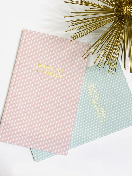 Striped Planners - 2 Styles
