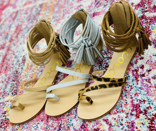 The Freestyle Sandals in 3 Colors