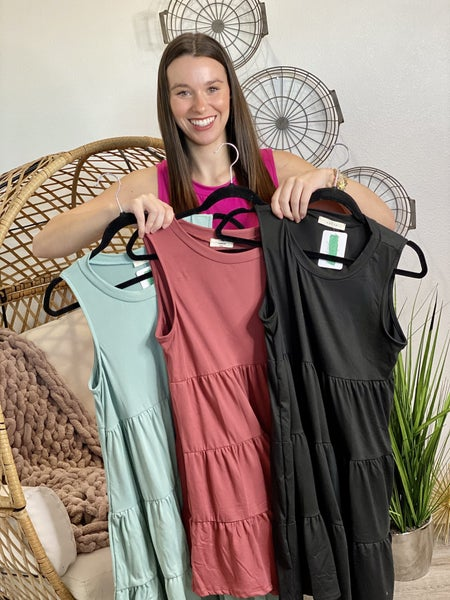The Simple Life Dress - 4 Colors
