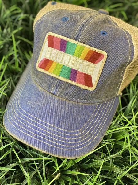 Denim Brunette Hat