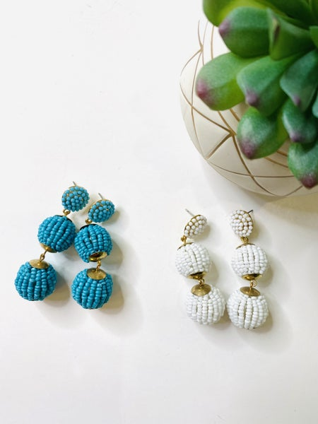 The Seed Trio Earrings- 2 Colors