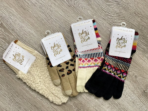 Touchscreen Gloves-4 styles