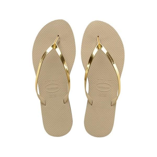 The Metallic Sandals - 2 Colors