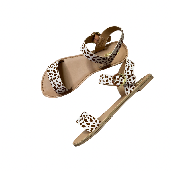 The Athena Spotted Sandals