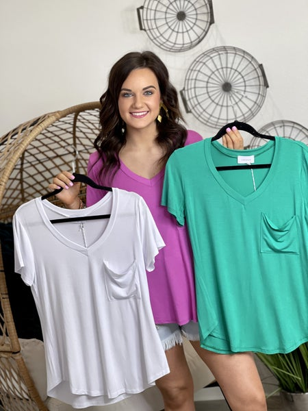 The Adrienne Modal Top - 7 Colors