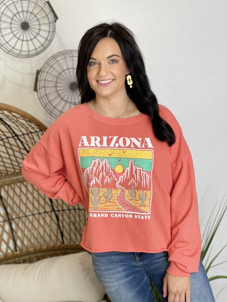 The Graphic Cropped Sweatshirt - 7 Styles