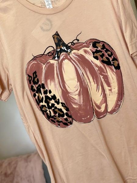 Blush Leo Pumpkin Tee