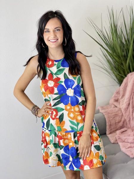 The Retro Floral Dress