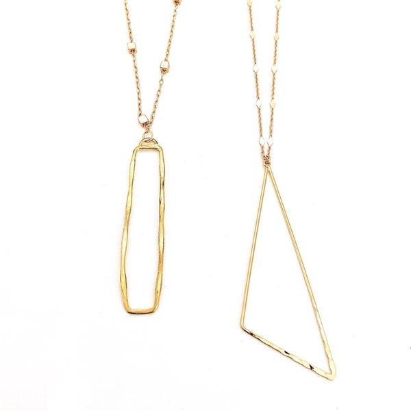 The Isabelle Necklace-2 Shapes