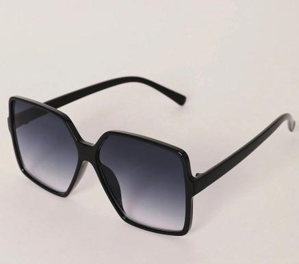 Black Sleek Sunglasses