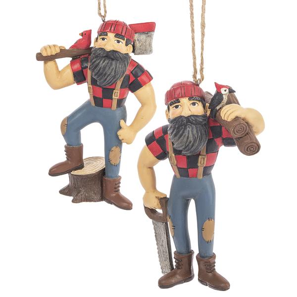 Lumberjack Ornament