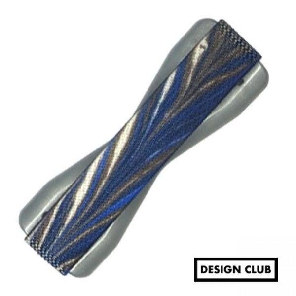 Universal Navy Blue & Gray Phone Grip
