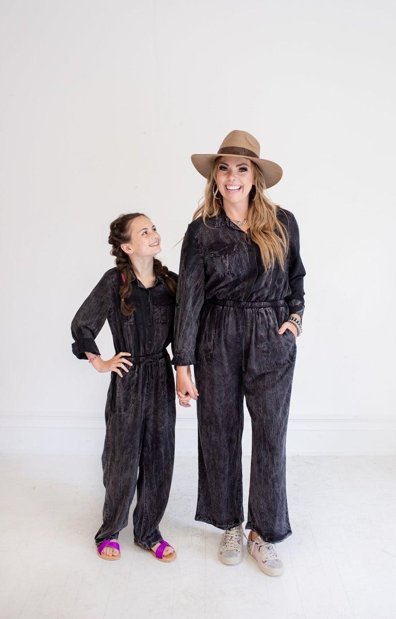 Black L/S Jumpsuit