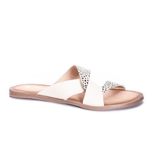 Polka Dot Slide Sandal