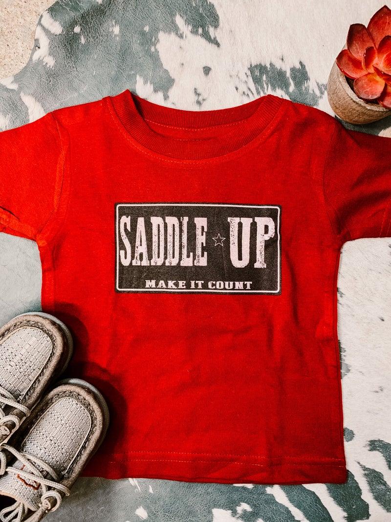 Saddle Up Tee