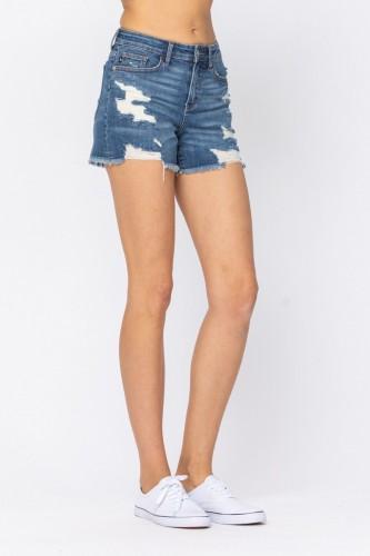Mid Rise Cut Off Shorts