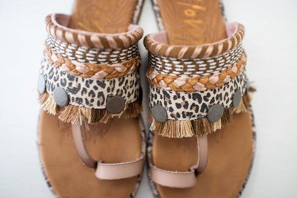Embellished Moroccan Inspired Sandal