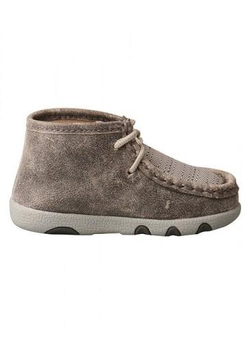 Infant Gray Driving Moc ICA0012