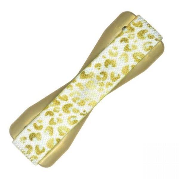 Universal Gold Leopard Phone Grip